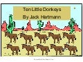 Ten Little Donkeys by Jack Hartmann