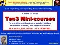Ten3 Mini Courses