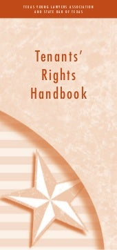 Tenants'rights handbook