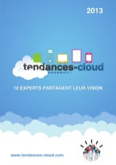 Tendances cloud2013 v2.0