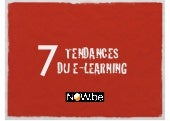 7 Tendances du e-Learning