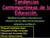 Tendencias contemporáneas de la edu...