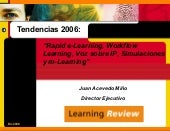 Tendencias Del Elearning 2006
