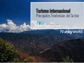 Tendencias Turismo Internacional - 2015