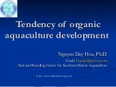 Tendency Of Organic Aquaculture Dev...