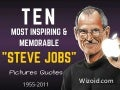 Ten most inspiring quotes from STEVE JOBS