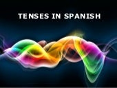 Tenses display