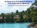 10 Things Every Club Marketer Needs to Know About Internet Marketing