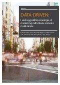 Data-driven: I vantaggi della tecnologia di marketing nell'attuale scenario multicanale