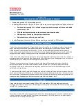 Tesco second quarter reults news brief
