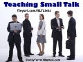 Teaching Small Talk