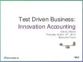 Test Driven Business: Balanced Team