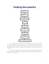 Testing documents