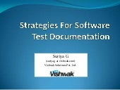 Strategies For Software Test Docume...
