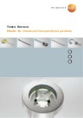 Testo - Made to measure temperature probes and sensors