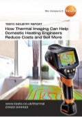 Testo industry report   thermal imaging for hvac engineers