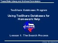 Tex Share Homework Help Lesson 1