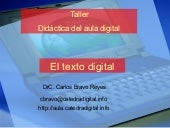 El texto digital
