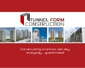 Tunnel Form Construction Brochure