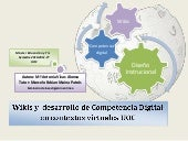 Competencias digitales y wikis