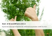 Best of Brand Effects 2012