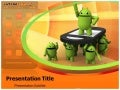 Android PowerPoint Templates and Backgrounds