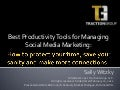 AMA-Richmond Social Media Productivity Tools 022211