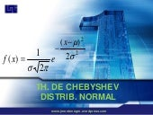 Th. Chebyshev Distrib. Normal