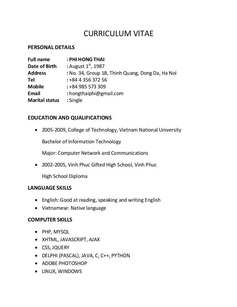 Language Skills In Resume Example   Professional resumes sample online