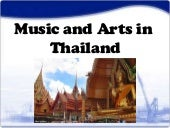 Thailand (Arts & Music)