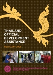 Thailand official development assis...