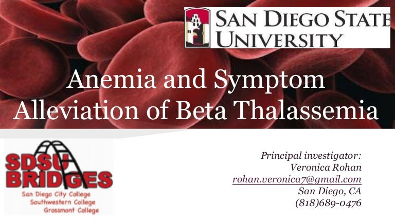 Thalassemia research papers