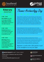 Thames Archaeology Day Itinerary