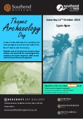 Thames Archaeology Day Poster