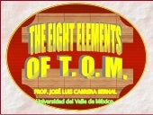 The 8 Elements Of Tqm