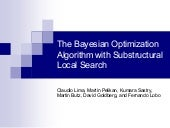 The Bayesian Optimization Algorithm...