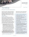 Setting the 2014 Audit Committee Agenda - The Bulletin Vol 5, Issue 5