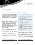 10 Lessons in Integrating Risk Management with Strategy - The Bulletin, Vol 5, Issue 7