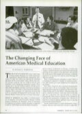 The Changing Face Of  American Medical Education