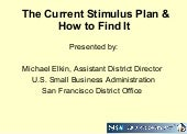 The  Current  Stimulus  Plan And  H...