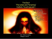 The Devil: Catholic Teachings part I