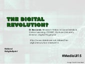 The Digital Revolution? #MediaLit15