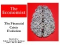 The Economist Covers - The Financial Crisis Evolution