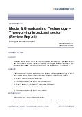 The Evolving Broadcast Sector (Review Report)