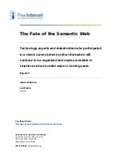 The fate-of-the-semantic-web