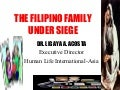 The Filipino Family Under Siege