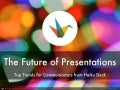 The Future of Presentations: Top Trends for Communicators