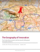 The geography-of-innovation