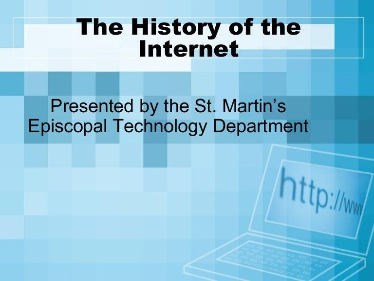 Internet presentation websites