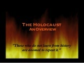 The Holocaust - an Overview